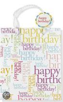 Deluxe Gift Bag Happy Birthday