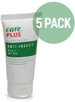 5X Care Plus Deet 30% gel 80ml - Voordeelverpakking