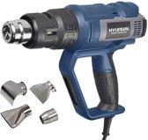 Hyundai heteluchtpistool 2000W pro laspistool / lasapparaat / krimppistool / krimpapparaat / soldeerbout / soldeerpistool / verfbrander / lijmbrander