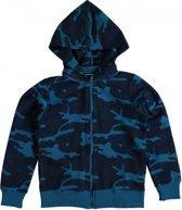 Name it blauw sweatvest Maat - 116