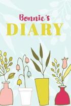Bonnie's Diary