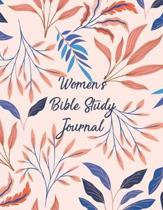 Women's Bible Study Journal: Christian Scripture Notebook with Guided Prompts