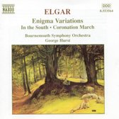 Elgar: Enigma Variations, etc / Hurst, Bournemouth SO