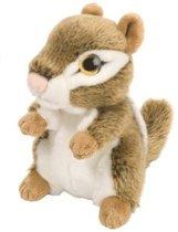 Knuffel eekhoorn knuffel 18 cm