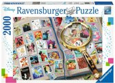 Ravensburger puzzel Mijn mooiste postzegels - Legpuzzel - 2000 stukjes