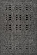 CleanWalk binnen/buiten karpet Kudo grijs 120 x 170 cm
