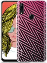 Huawei P Smart Z Hoesje Wavy Pink