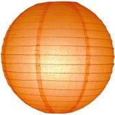 Luxe bol lampion Ø 30 cm - Oranje