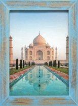 Henzo India Fotolijst - Fotomaat 30x40 cm Blauw