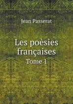 Les Poesies Francaises Tome 1