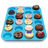 Kitchen Princess - Siliconen Muffin Bakvorm - Cupcakes - 24 stuks