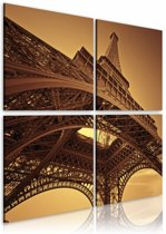 Schilderij - Eiffeltoren - Parijs