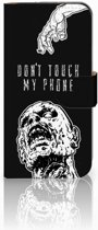 HTC One Mini 2 Uniek Boekhoesje Zombie