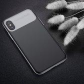 Baseus iPhone XS Hard Cover Case Black hoesje