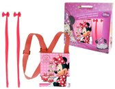Minnie Mouse Gift Kids Schoudertas + Haaraccessoires
