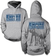 Merchandising STAR WARS - Sweatshirt Empire Strikes Back AT-AT - H.Grey (L)