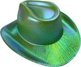 Lg-imports Cowboyhoed Glans Unisex One Size Groen