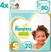 Pampers Premium Protection - Maat 5 (Junior) 11-16 kg - Maandbox 80 Stuks - Luiers