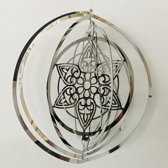 "Cosmo Spinner - ca. 8"" / 20 cm MANDALA windspinners"