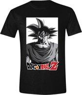 Dragon Ball Z - Goku Logo Mannen T-Shirt - Zwart - L