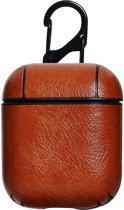 Hoesje | Leather look (geschikt voor Apple Airpods)