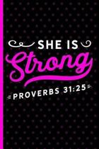 She Is Strong Proverbs 31