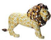 Barcino design barcelona mozaiek leeuw 15 cm