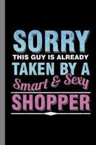 Smart & Sexy Shopper: Shopping Gift For Shopaholic (6''x9'') Dot Grid Notebook To Write In