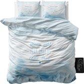 Sleeptime Dream - Dekbedovertrekset - Lits-Jumeaux - 240x200/220 + 2 kussenslopen 60x70 - Blauw