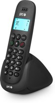 SPC Art - Single DECT telefoon - Antwoordapparaat en nummerherkenning - Zwart