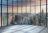 Fotobehang View New York City | L - 152.5cm x 104cm | 130g/m2 Vlies