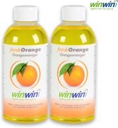 winwinCLEAN 2x fresh Orange 500ml (concentraat)