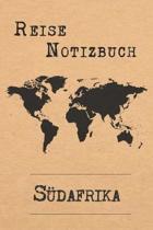 Reise Notizbuch S dafrika