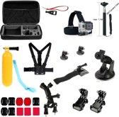 23-in-1 Outdoor Accessories Kit voor GoPro Hero 4/3+/3/2/1 en Actioncam