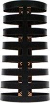 Les Soeurs Gladys armband zwart - medium