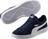 PUMA Smash V2 Sd Jr Sneakers Kinderen - Peacoat / Puma White - Maat 39