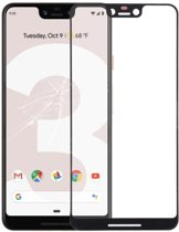 Let op type!! Front Screen Outer Glass Lens for Google Pixel 3 XL (Black)