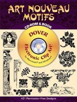 Art Nouveau Motifs CD-ROM and Book