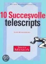 10 succesvolle telescripts. (Sales memo's)