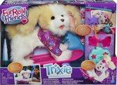 FurReal Friends Trixie mijn Skateboardende Pup - Elektronische knuffel