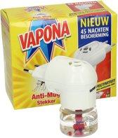 Insecten Bestrijding- Anti Mug Stekker 45 nachten