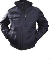 Dassy AUSTIN Winterjas Marineblauw/ZwartXS