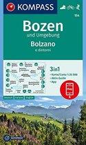 Kompass WK154 Bozen und Umgebung / Bolzano