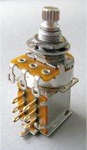 Push Pull Poti 500 kOhm logarithmisch 6 Pins