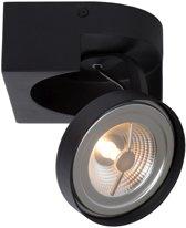 Lucide VERSUM AR111 - Plafondspot - LED Dimb. - AR111 - 1x10W 2700K - Zwart