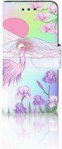Samsung Galaxy S4 Mini i9190 Uniek Boekhoesje Bird