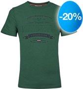 Heren T-shirt Domburg  -  Donkergroen