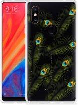 Xiaomi Mi Mix 2S Hoesje Peacock Feathers
