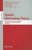 Spatial Information Theory
