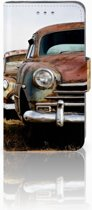 Samsung Galaxy S3 Mini Uniek Ontworpen Hoesje Vintage Auto
